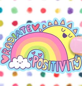Turtle's Soup Radiate Positivity Vinyl Sticker