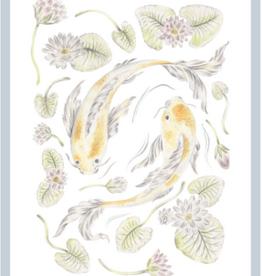 "Erica Catherine Illustration Pisces Zodiac Sign Illustration Art Print: 8 x 10"""