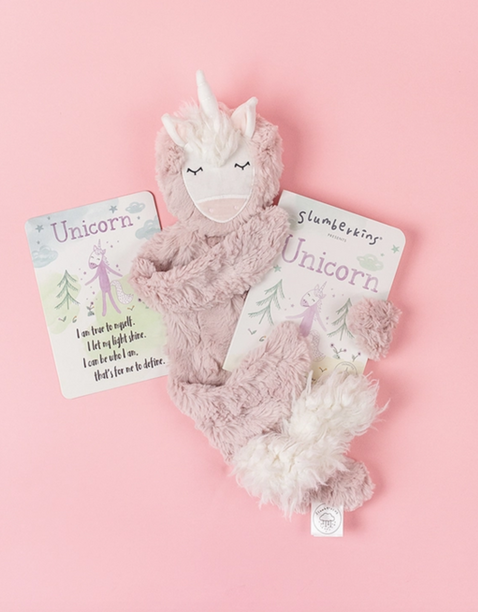 Slumberkins Inc. Unicorn Snuggler: Rose