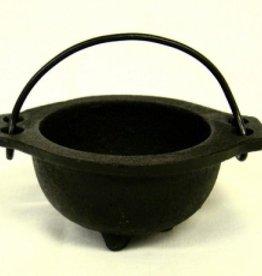 "New Age Imports, Inc. Cast Iron Cauldron 2.5""D"