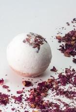 NaturalAmor Rose Geranium Bath Bomb