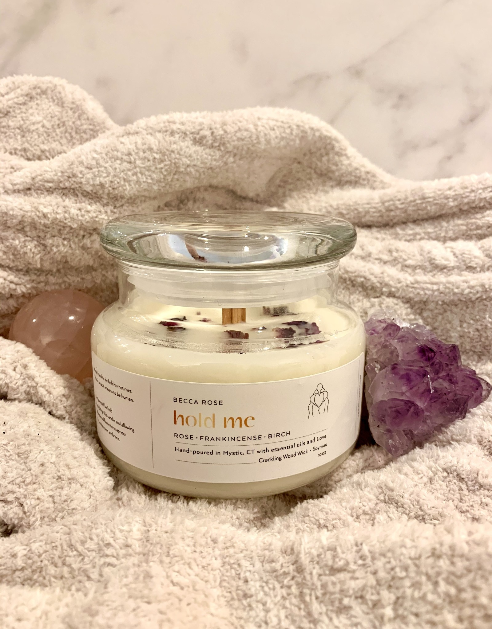 Becca Rose Soy Candle Hold Me