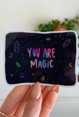 Jess Weymouth Magic Holographic Sticker