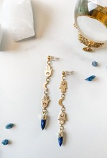 Pretty Eclectic *Divinity Earrings - Lapis Lazuli