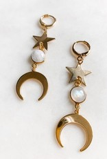 Pretty Eclectic Moonage Daydream Earrings