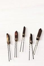 Pretty Eclectic Bronze Quartz Hair Pin