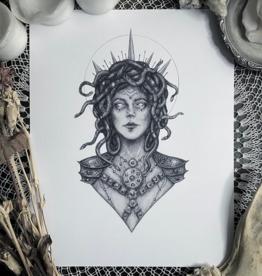 Caitlin McCarthy Art Medusa Print 5x7