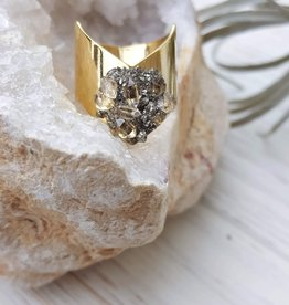Dynamo Herkimer Diamond Ring