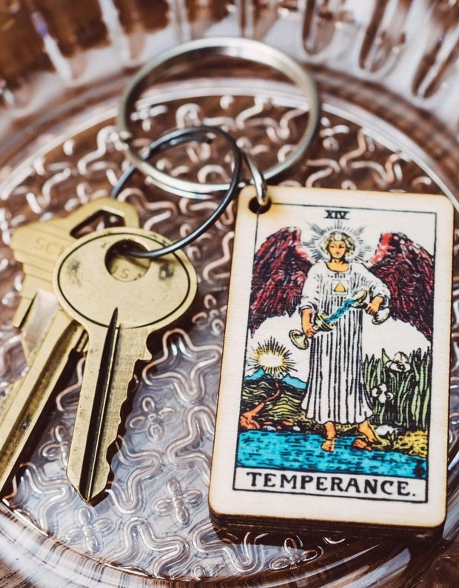 Most Amazing Tarot Keychain (XIII-XXI)