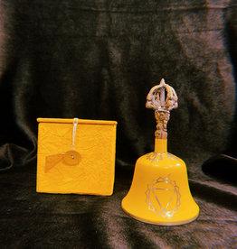 "New Age Imports, Inc. *Yellow ""Solar Plexus"" Tibetan Bell"