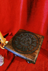 New Age Imports, Inc. Triquetra Small Altar Table