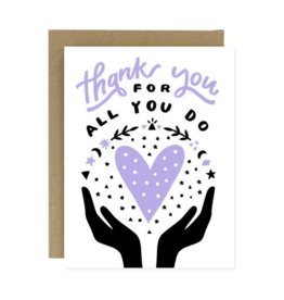 *Worthwhile Paper Thank You for All You Do Card