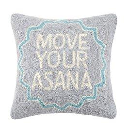 Peking Handicraft Move Your Asana Hook Pillow