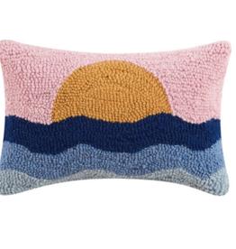 Peking Handicraft Sunset Hook Pillow