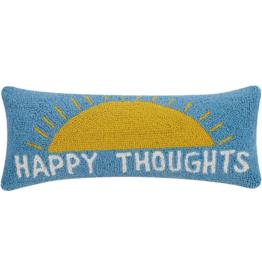 Peking Handicraft Happy Thoughts Hook Pillow