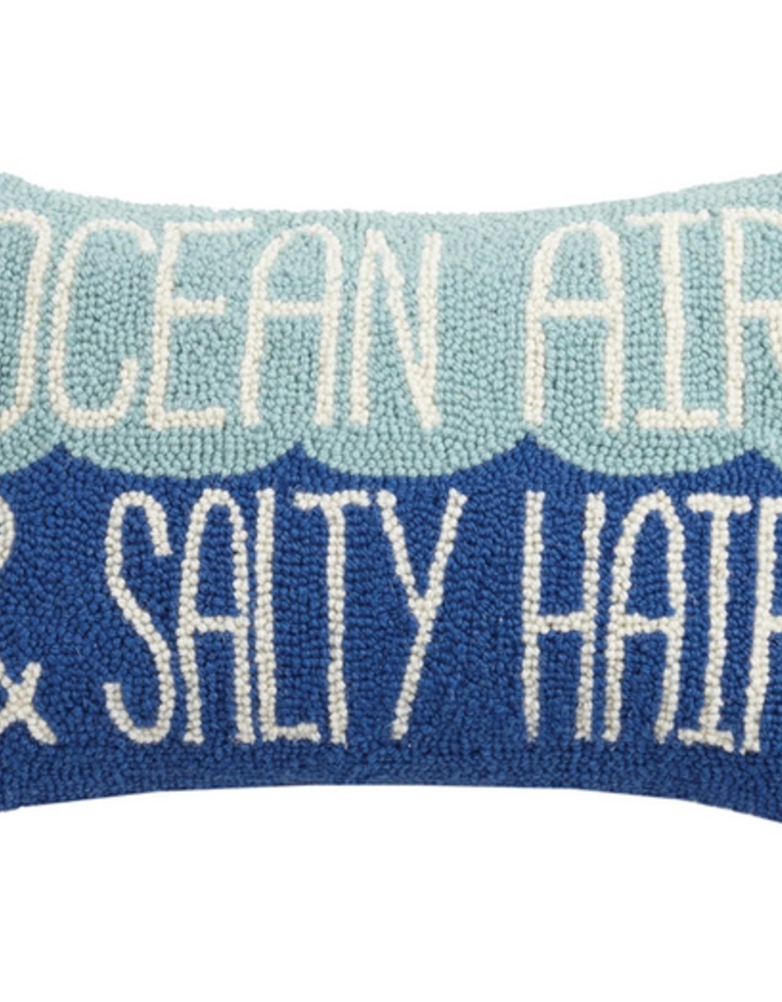 Peking Handicraft Ocean Air & Salty Hair Hook Pillow