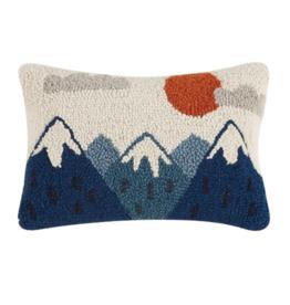 Peking Handicraft Mountains Hook Pillow