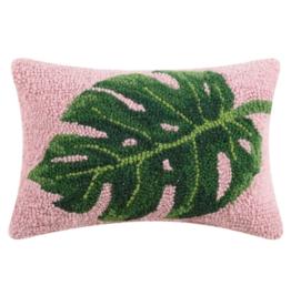 Peking Handicraft Palm Leaf Hook Pillow