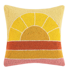 Peking Handicraft Retro Rainbow Hook Pillow