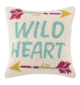 Peking Handicraft Wild Heart Hook Pillow