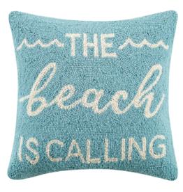 Peking Handicraft Beach Is Calling Hook Pillow