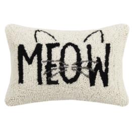 Peking Handicraft Cat Meow Hook Pillow