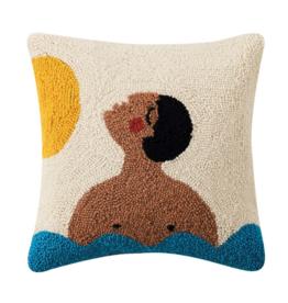Peking Handicraft Time Hook Pillow