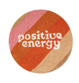 Peking Handicraft Retro Positive Energy Round Hook Pillow