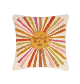 Peking Handicraft Retro Sunshine Hook Pillow