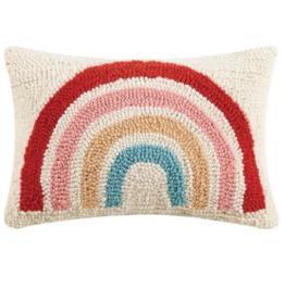 Peking Handicraft Small Rainbow Hook Pillow