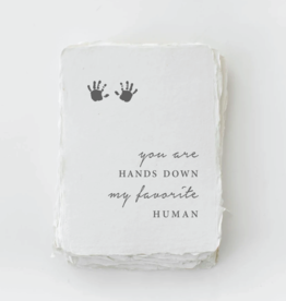 """*Paper Baristas *""""My Favorite Human"""" Baby/Mother Card"""