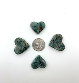 Minec Amazonite Heart (small)