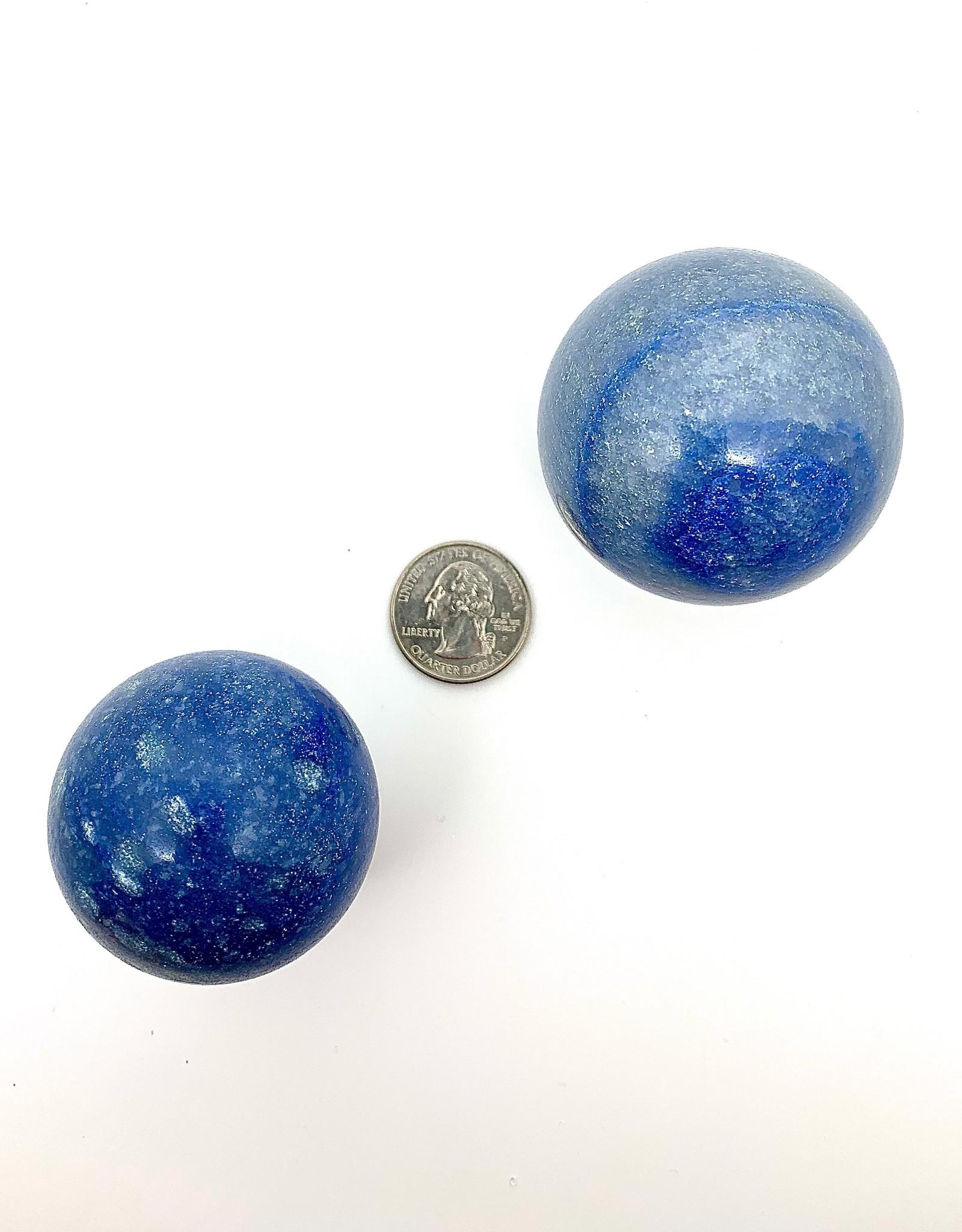 Minec Blue Quartz Sphere