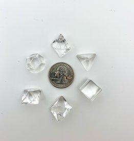 Minec Clear Quartz Geometric Piece