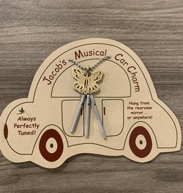 Jacob's Musical Chimes Butterfly Car Charm
