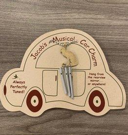 Jacob's Musical Chimes Cat Car Charm