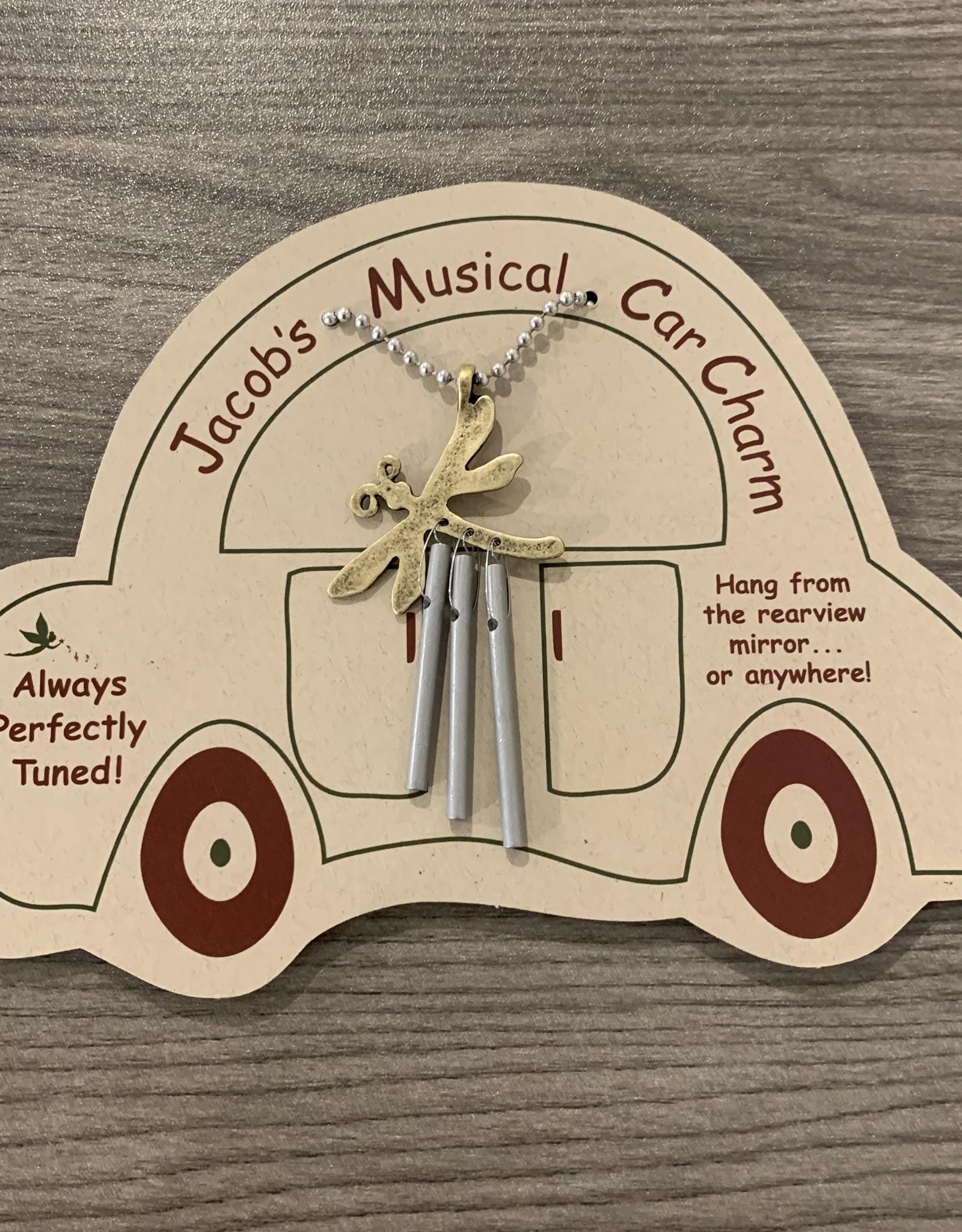 Jacob's Musical Chimes Dragonfly Car Charm