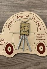 Jacob's Musical Chimes Dream Big Car Charm