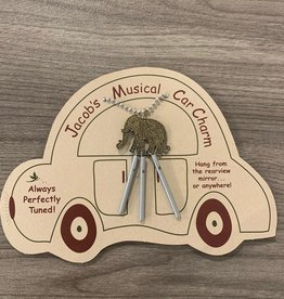 Jacob's Musical Chimes Elephant Car Charm