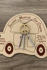Jacob's Musical Chimes Peace Car Charm