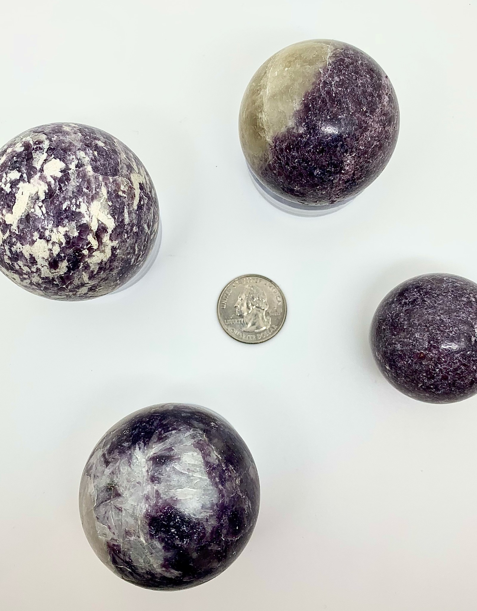 Minec Lepidolite Sphere