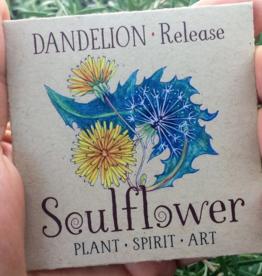 Soulflower Dandelion Tattoo