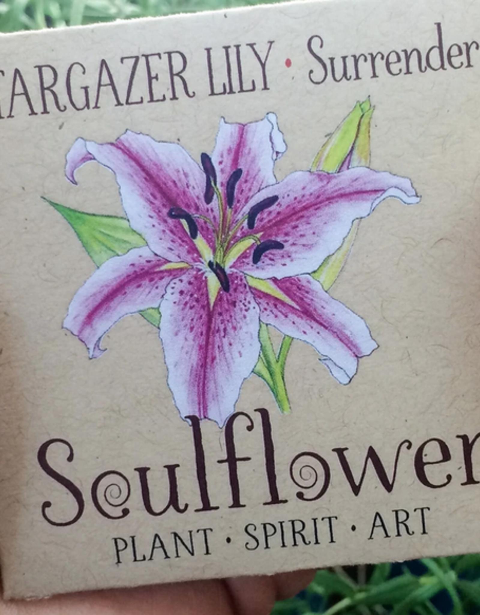 Soulflower Stargazer Lily Tattoo