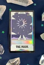 Wildflower + Co Tarot Card Sticker - The Moon