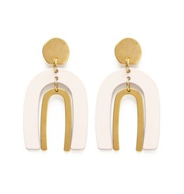 Amano Studio Arches Earrings - Ivory*