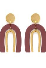 Amano Studio Arches Earrings - Canyon