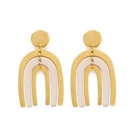 Amano Studio Arco Iris Earrings - Ivory