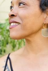 Mind's Eye Design Mod Blue Earrings