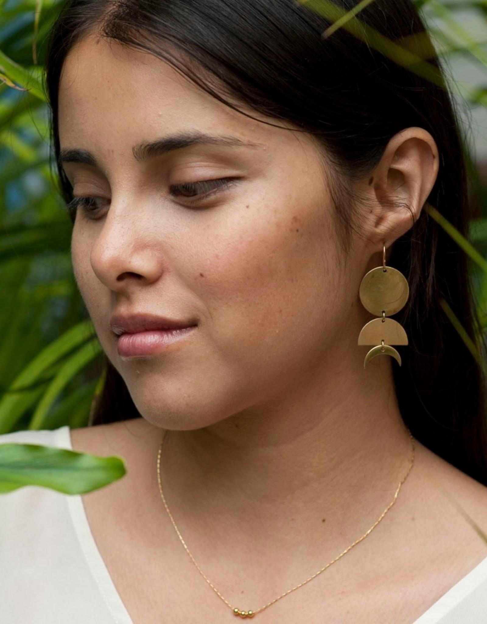 Amano Studio Celestial Geometry Earrings