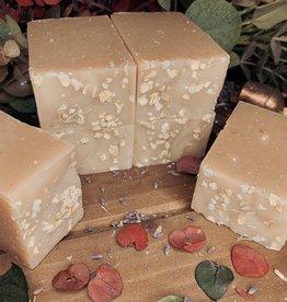 Becca Rose Oatmeal Lavender Goat Milk Soap